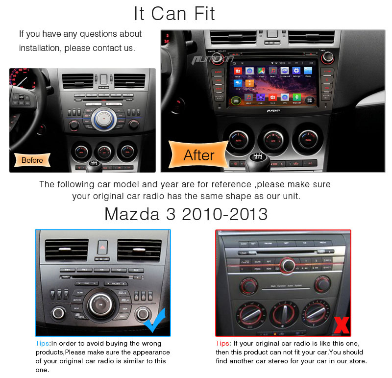 for mazda 3 2010 2011 2012 2013 car dvd player android 4 4 gps stereo radio dab ebay. Black Bedroom Furniture Sets. Home Design Ideas
