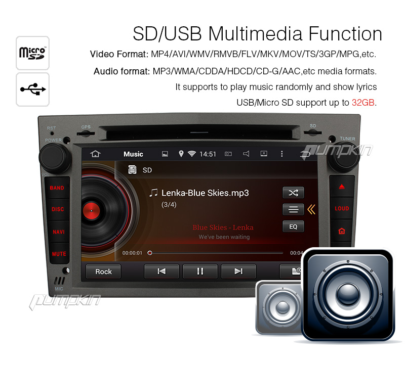 Pure android 4 2 car stereo dvd player cpu 1 6ghz ddr3 1gb memory 8gb - 7 Quot Sat Nav Car Android 4 4 Gps Dvd Player Stereo Dab Fr