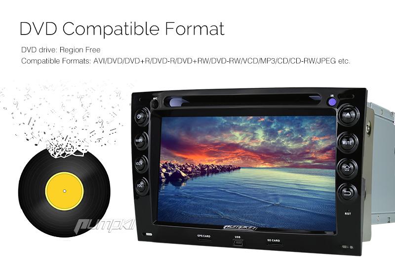 pour megane renault lecteur dvd de voiture autoradio android 5 1 gps obd2 st r o ebay. Black Bedroom Furniture Sets. Home Design Ideas