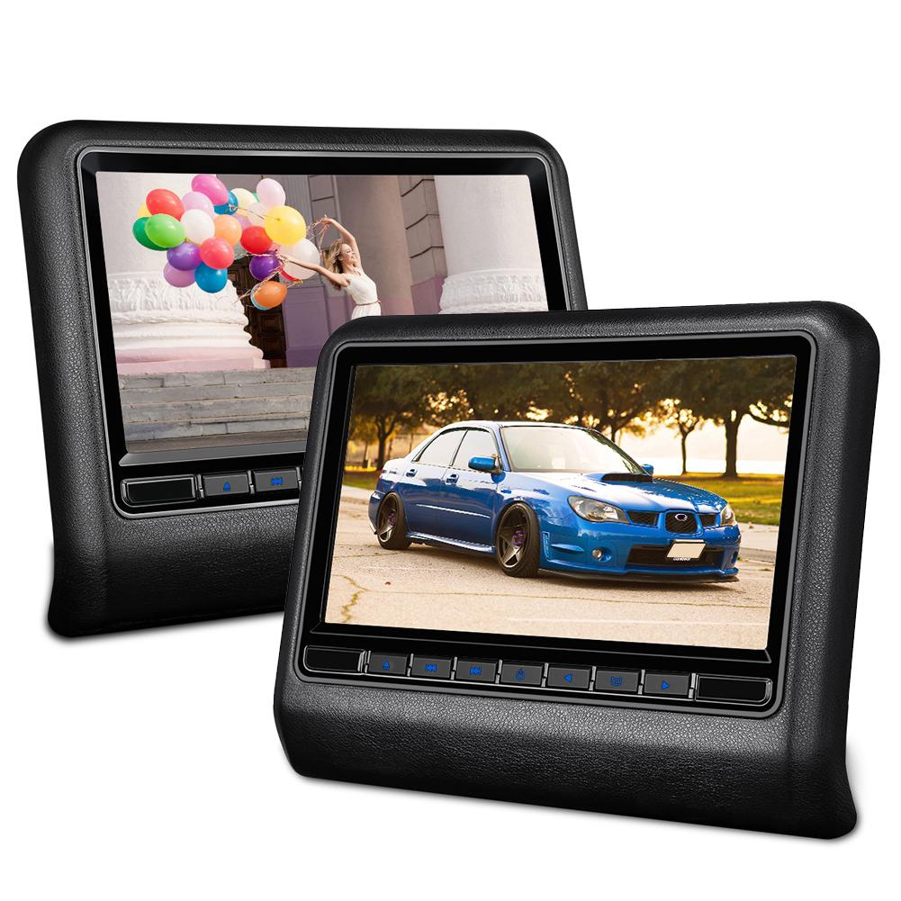 2x 10 1 39 39 digital tft kopfst tzen screen car auto. Black Bedroom Furniture Sets. Home Design Ideas