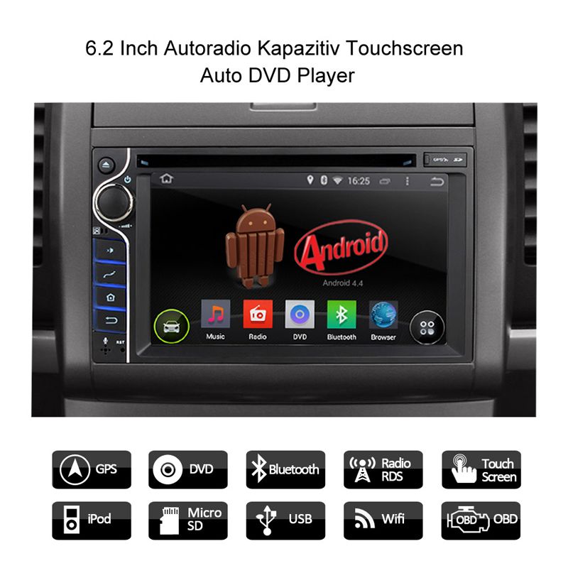 2015 autoradio quad core android 4 4 doppel 2din dvd. Black Bedroom Furniture Sets. Home Design Ideas