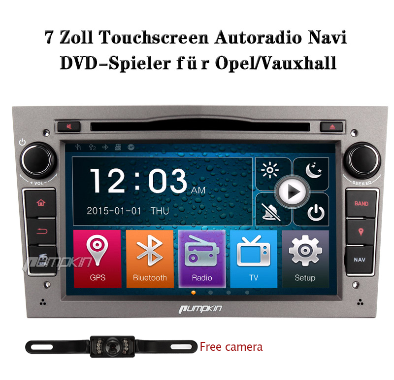 kamera autoradio mit gps navi dvd sd f r opel vauxhall. Black Bedroom Furniture Sets. Home Design Ideas