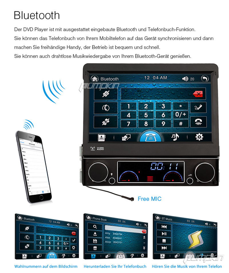 1 din autoradio mit gps navi touchscreen in seuzach kaufen. Black Bedroom Furniture Sets. Home Design Ideas