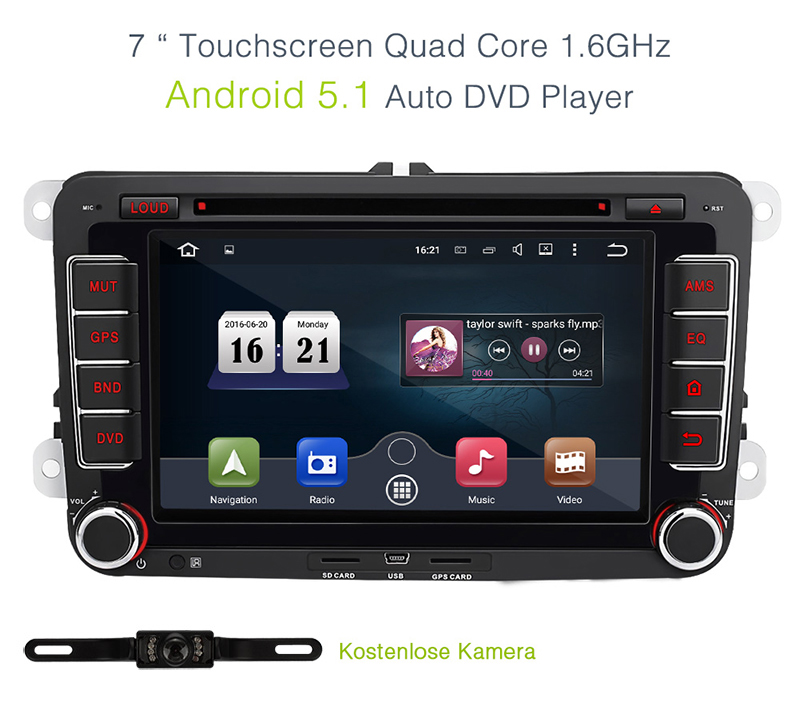 autoradio dvd gps kamera vw seat altea in seuzach kaufen. Black Bedroom Furniture Sets. Home Design Ideas