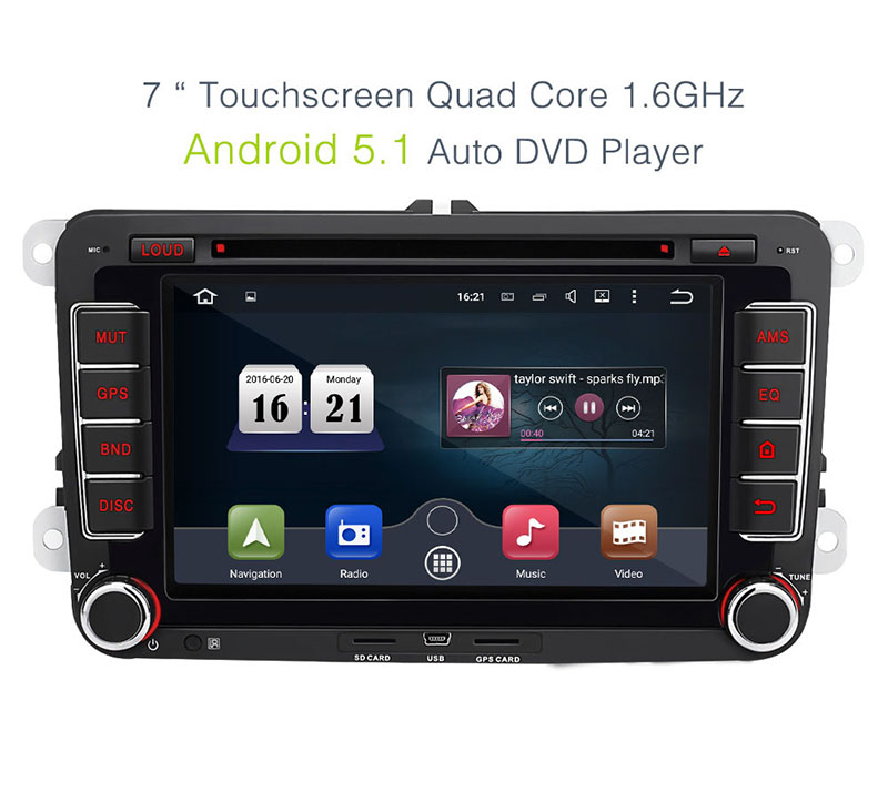 android 5 1 autoradio gps navi touran in seuzach kaufen. Black Bedroom Furniture Sets. Home Design Ideas