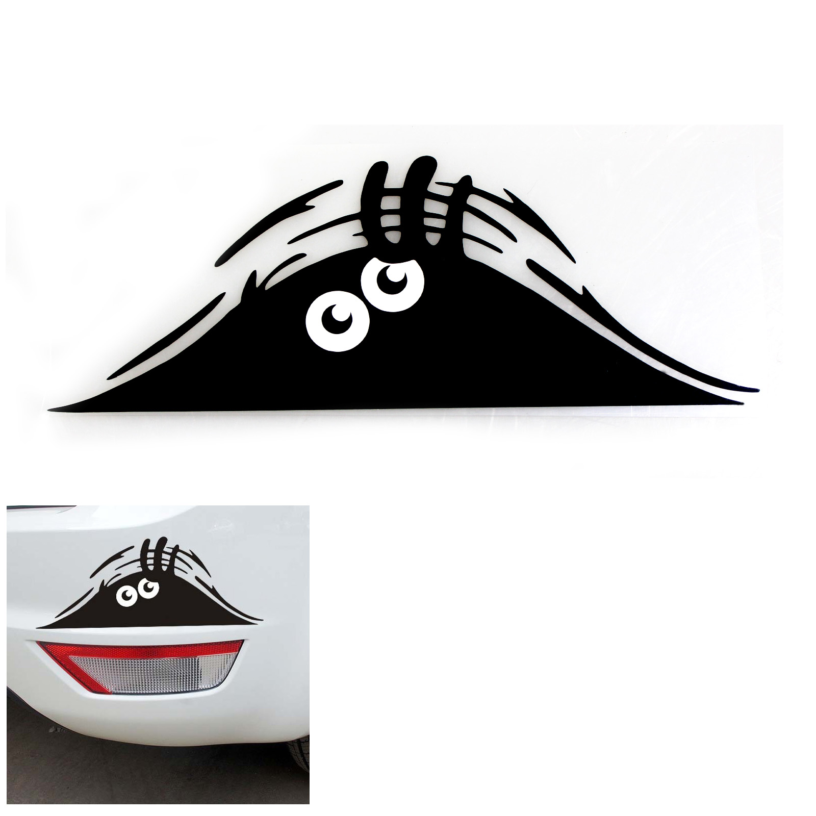 Peeking Monster For Auto Car Walls Windows Funny Sticker Graphic - Vinyl decal stickers for cars
