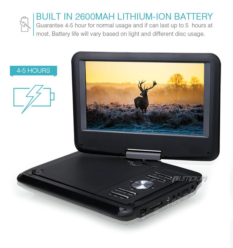 9 zoll tragbarer tft monitor dvd player auto kopfst tzen. Black Bedroom Furniture Sets. Home Design Ideas