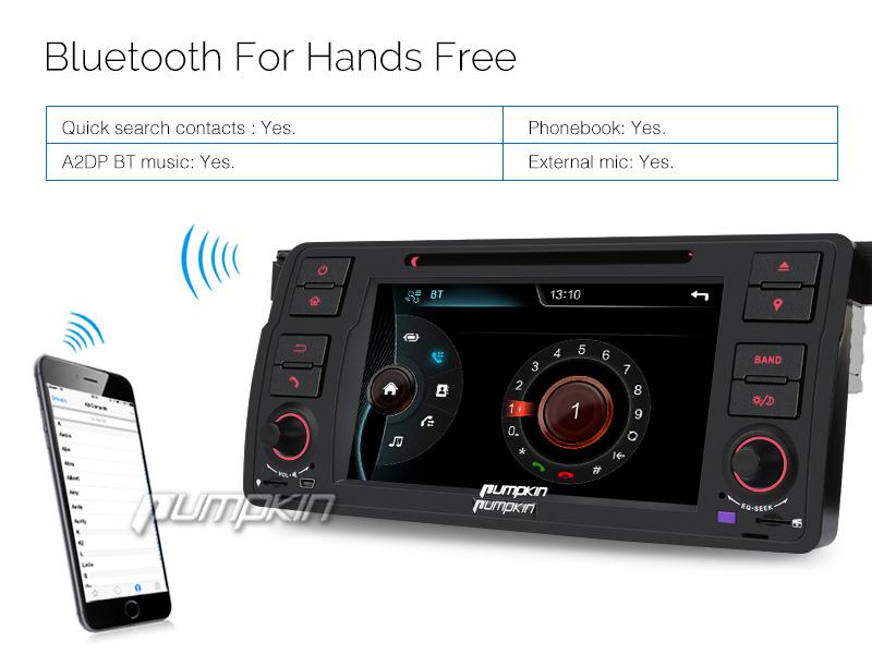 in dash car dvd player gps navigation radio for bmw 3 series e46 usb mp3 bt sd ebay. Black Bedroom Furniture Sets. Home Design Ideas