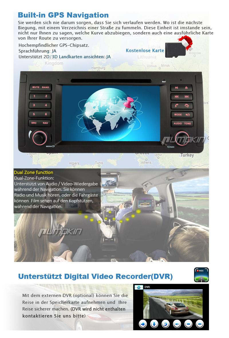 Bmw E39 Dsp Bypassmetra 2001 Car Radio Stereo Audio Wiring Head Unit Diagram Autoradio Mit Nav Navigation Dvd Gps Rds Usb Bluetooth F 252 R 5er E53