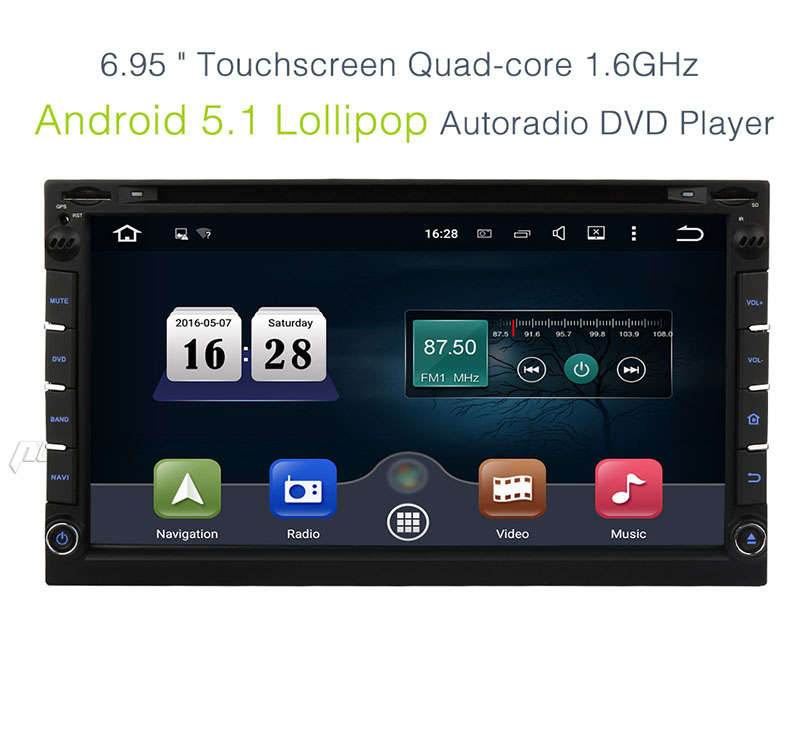 zoll doppel 2 din quad core android 5 1 autoradio dvd. Black Bedroom Furniture Sets. Home Design Ideas