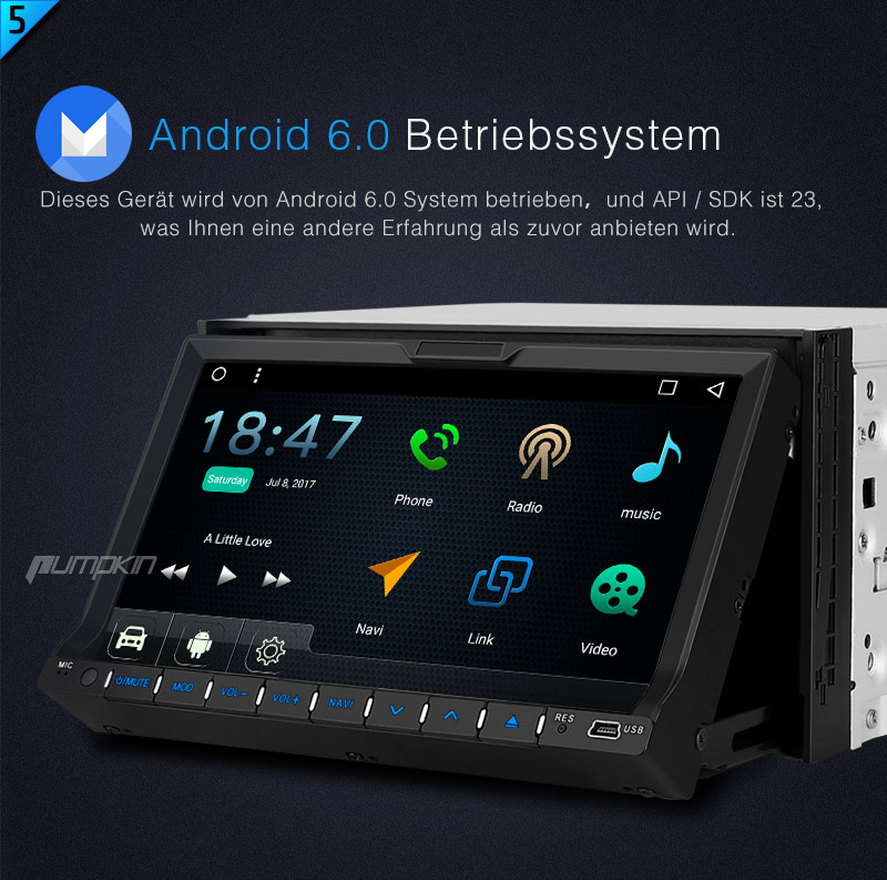 doppel 2 din hd autoradio mit android dvd gps navigation. Black Bedroom Furniture Sets. Home Design Ideas