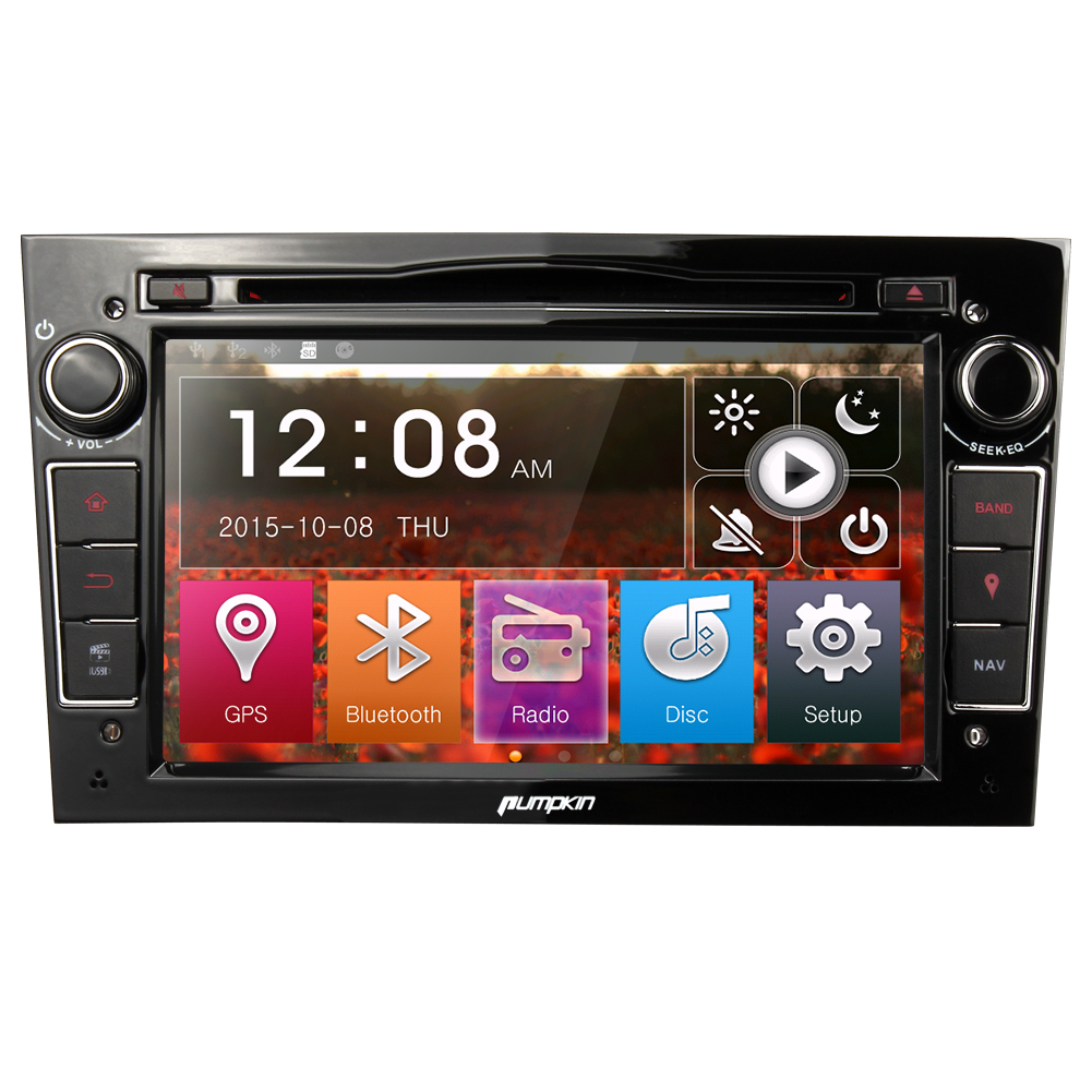 7 autoradio stereo radio f r opel meriva zafira 2din dvd gps audio bluetooth fm ebay. Black Bedroom Furniture Sets. Home Design Ideas
