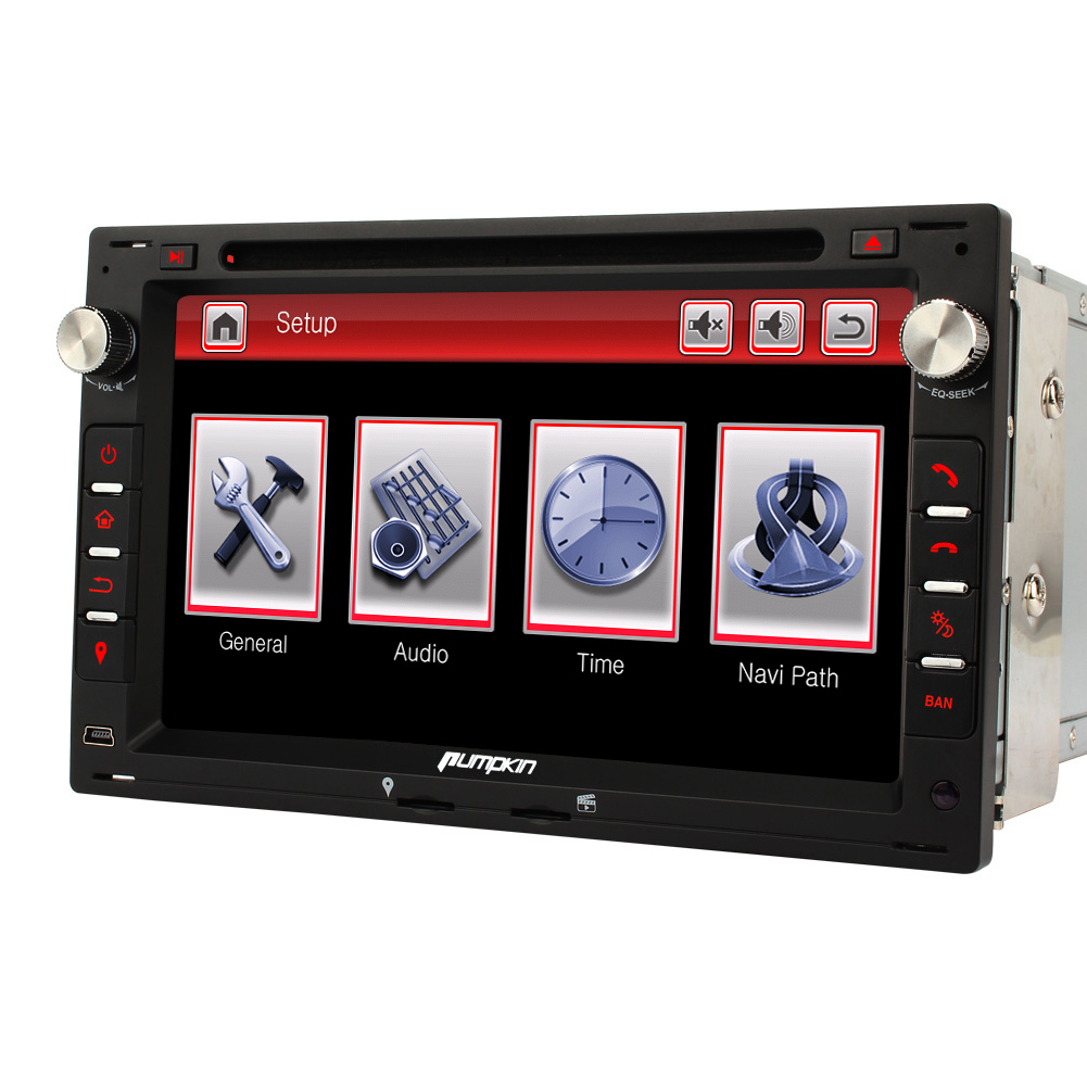 7 autoradio dvd gps navigation usb touch screen bt dvb f r passat golf mk4 t4t5 ebay. Black Bedroom Furniture Sets. Home Design Ideas